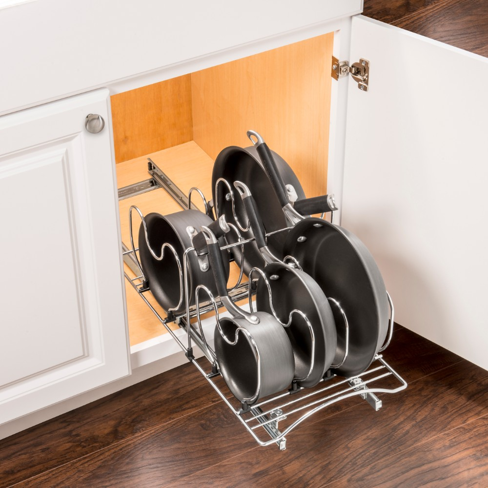 430321 Pull Out Cookware Cabinet Organizer Lynk Inc