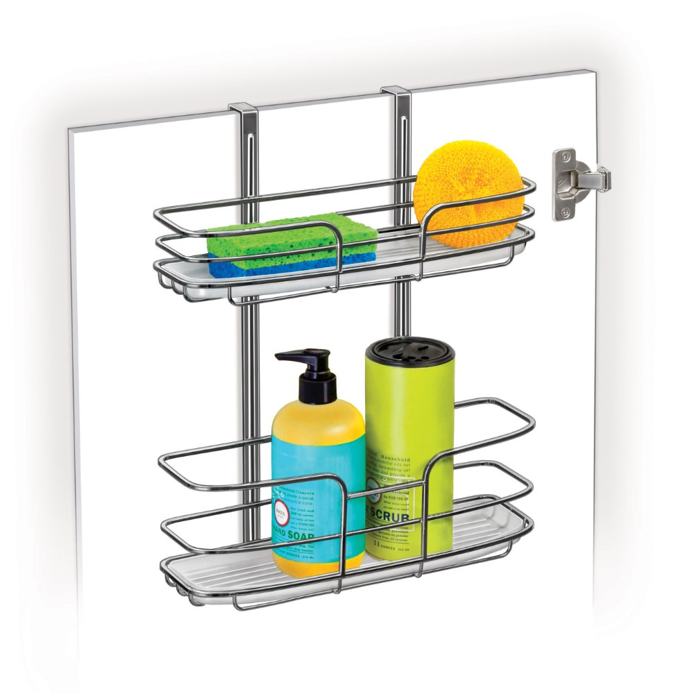 601400 Over Cabinet Door Double Shelf Organizer Lynk Inc