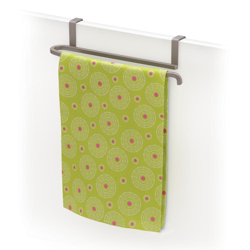 6116006 Over Cabinet Door Towel Bar Satin Nickel Lynk Inc